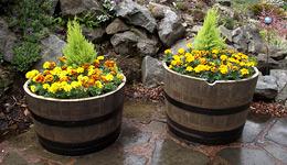 Garden Tubs Ltd Half Barrels
